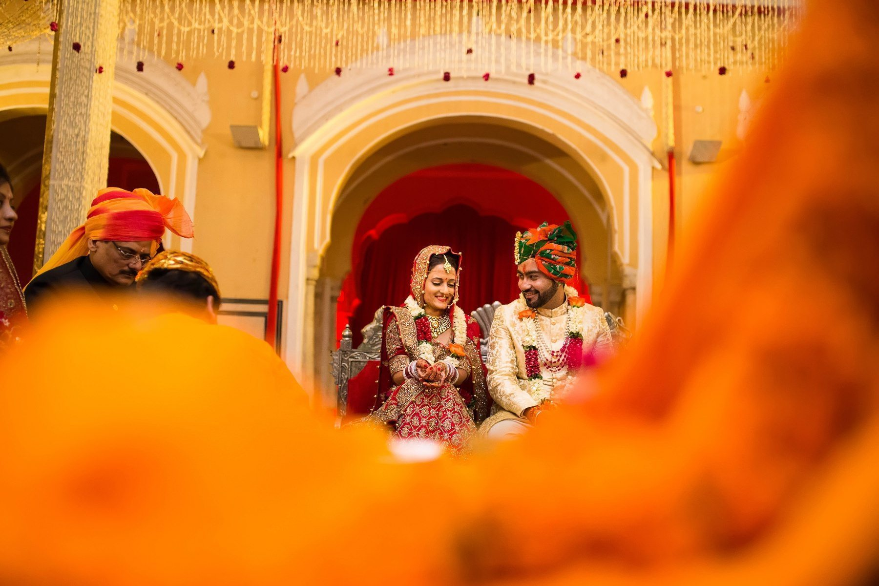 Indian Marwadi Bridal Wedding Outfit