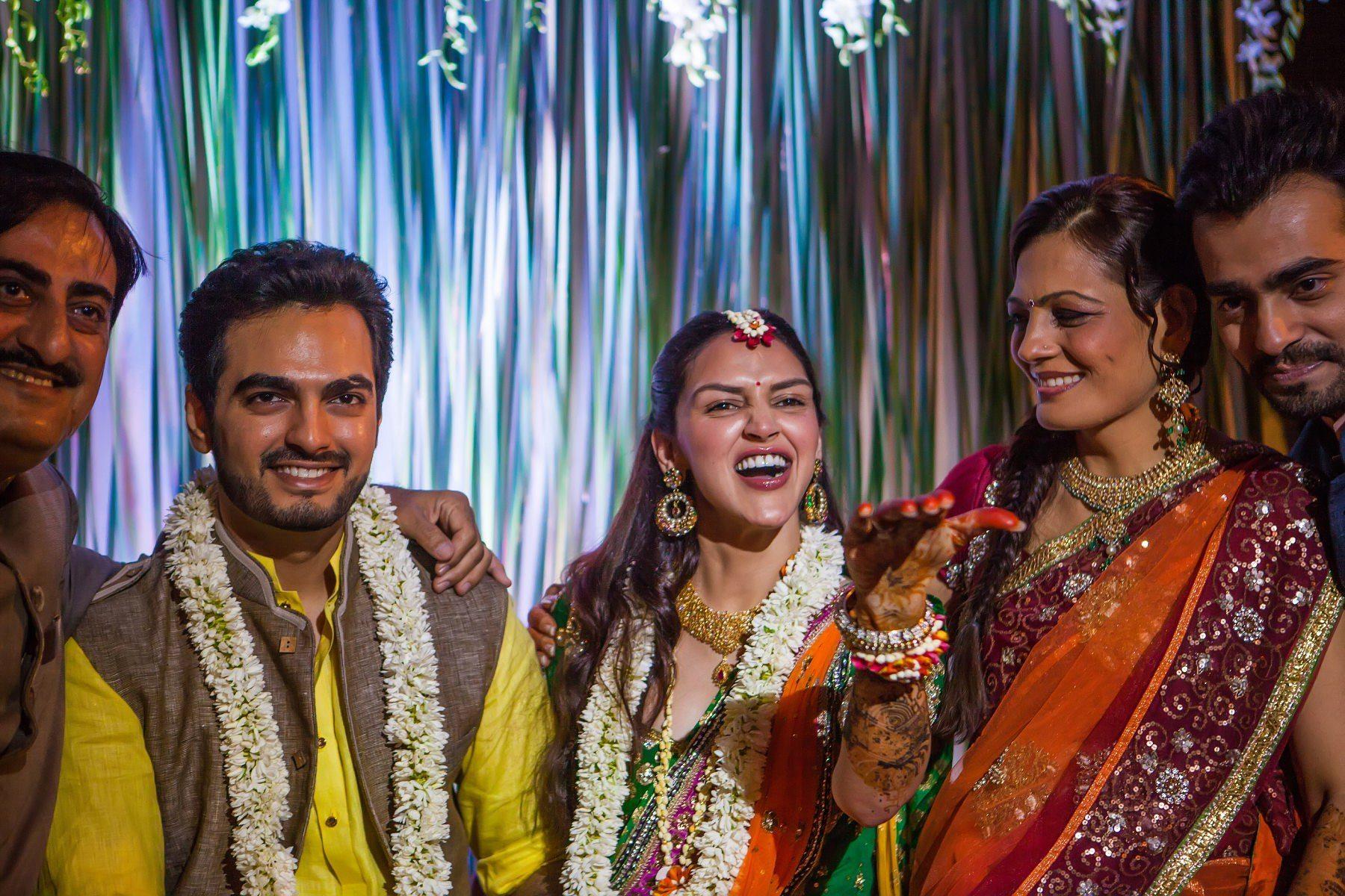 Esha Deol Bharat Takhtani Henna Party Mumbai